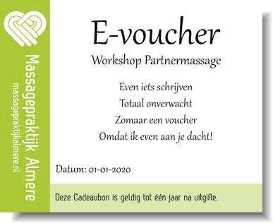 Cadeaubon of e-voucher